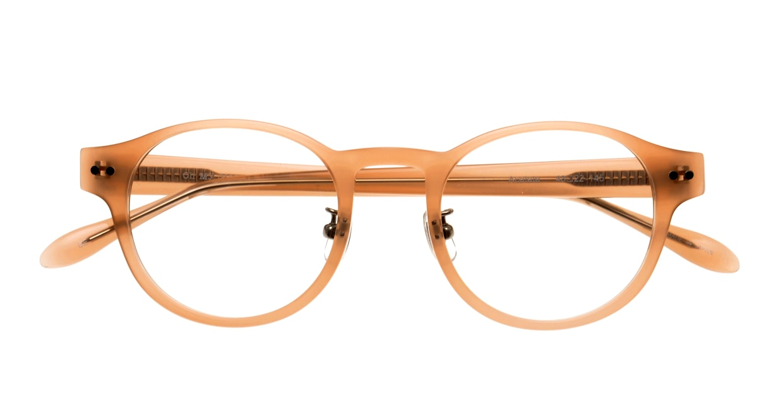 Oh My Glasses TOKYO Doris omg-114-BE-50 [鯖江産/丸メガネ/ベージュ]  4