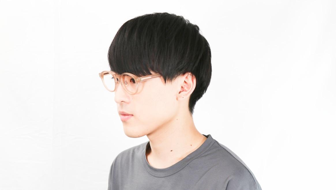Oh My Glasses TOKYO Doris omg-114-BE-50 [鯖江産/丸メガネ/ベージュ]  6