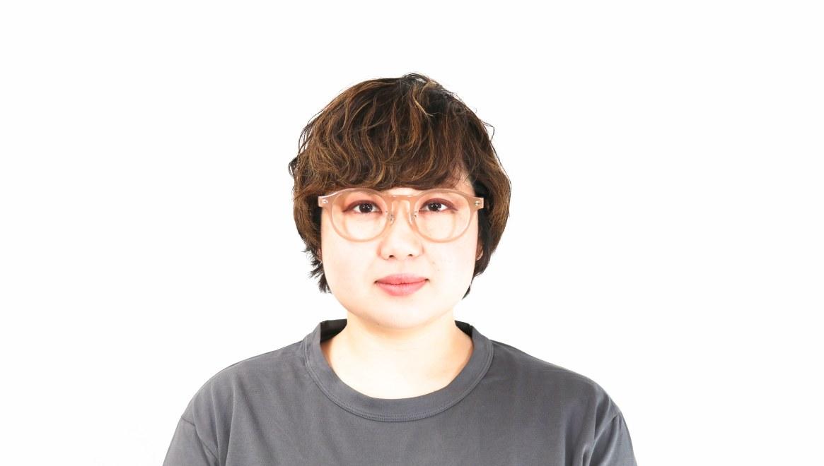 Oh My Glasses TOKYO Doris omg-114-BE-50 [鯖江産/丸メガネ/ベージュ]  7