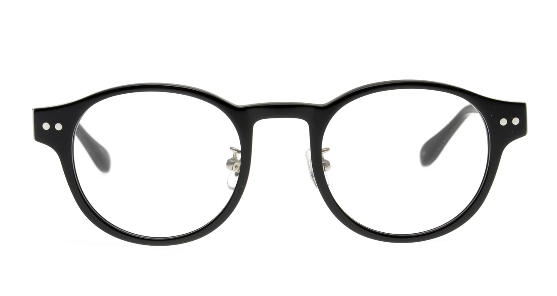 Oh My Glasses TOKYO Doris omg-114-BK-50 [黒縁/鯖江産/丸メガネ]