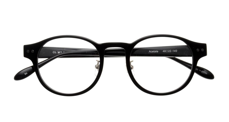 Oh My Glasses TOKYO Doris omg-114-BK-50 [黒縁/鯖江産/丸メガネ]  4