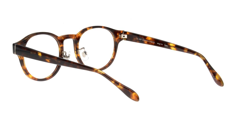 Oh My Glasses TOKYO Doris omg-114-DM-50 [鯖江産/丸メガネ/べっ甲柄]  3