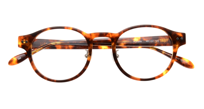 Oh My Glasses TOKYO Doris omg-114-DM-50 [鯖江産/丸メガネ/べっ甲柄]  4
