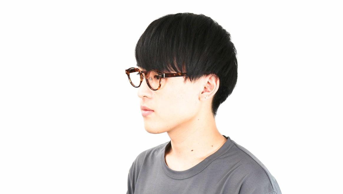 Oh My Glasses TOKYO Doris omg-114-DM-50 [鯖江産/丸メガネ/べっ甲柄]  6