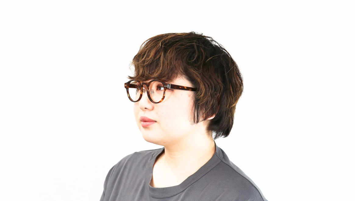 Oh My Glasses TOKYO Doris omg-114-DM-50 [鯖江産/丸メガネ/べっ甲柄]  8