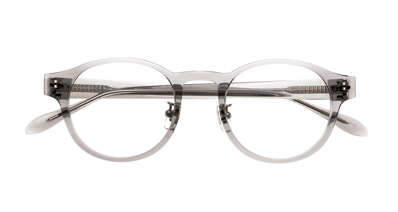 Oh My Glasses TOKYO Doris omg-114-GRY-50 [鯖江産/丸メガネ/グレー]  4