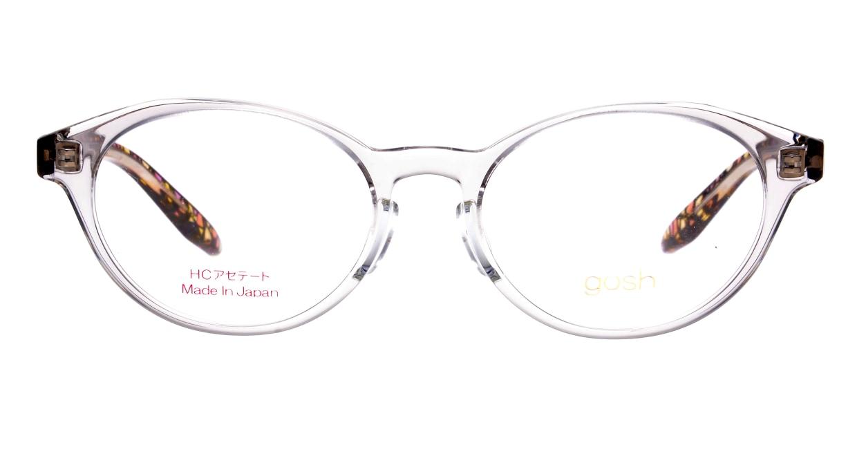ゴッシュ gos-076-1-47 [鯖江産/丸メガネ/透明]
