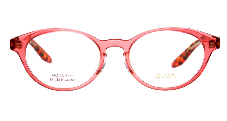 ゴッシュ gos-076-3-47 [鯖江産/丸メガネ/ピンク]
