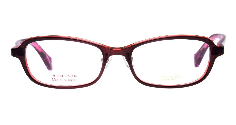 ゴッシュ gos-082-3-48 [鯖江産/丸メガネ/茶色]