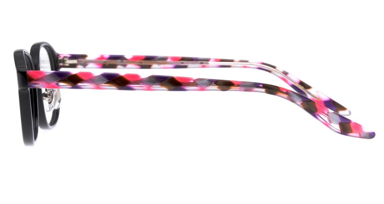 ゴッシュ gos-084-1-46 [黒縁/鯖江産/ウェリントン]  2