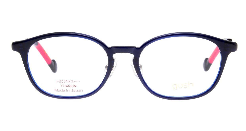 ゴッシュ gos-086-1-46 [鯖江産/ウェリントン/青]
