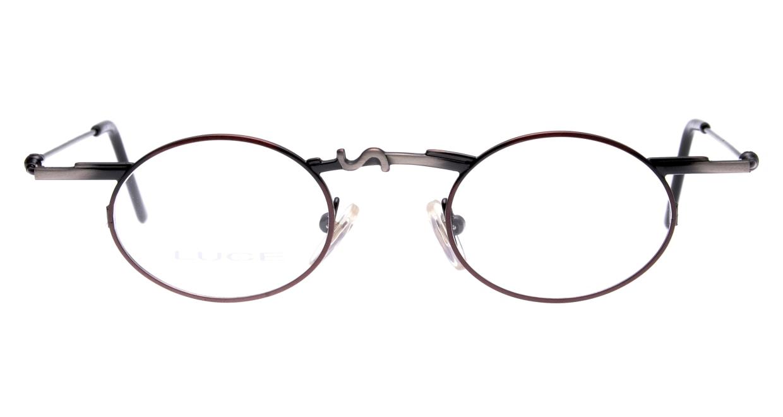 ルーチェ 2068-M2-42 [メタル/丸メガネ/茶色]