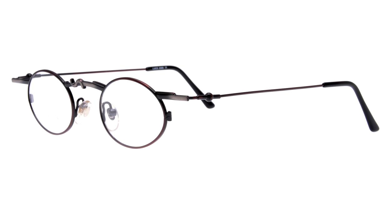 ルーチェ 2068-M2-42 [メタル/丸メガネ/茶色]  1