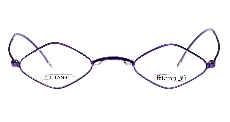 メナジェイ M007-LV-41 [メタル/スクエア/紫]