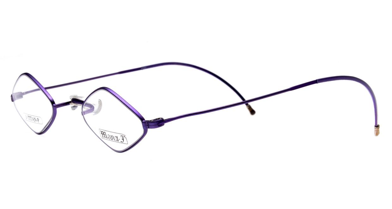 メナジェイ M007-LV-41 [メタル/スクエア/紫]  1