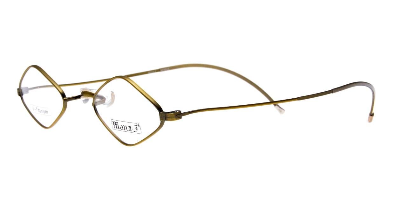 メナジェイ M007A-AG-41 [メタル/スクエア/ゴールド]  1