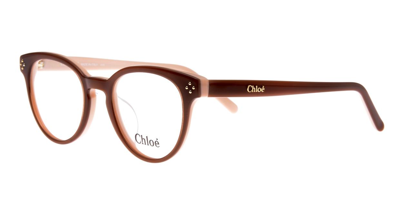 クロエ CE2680A-905-49 [丸メガネ/茶色]  1