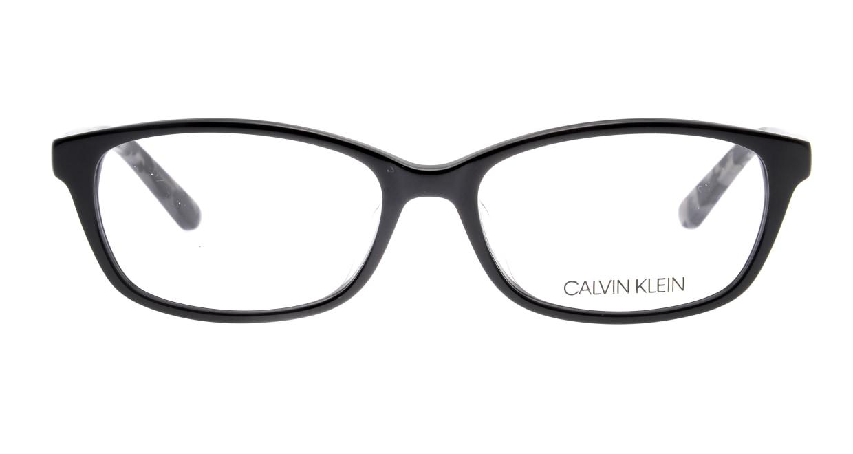 カルバンクライン CK18528A-001-54 [黒縁/ウェリントン]