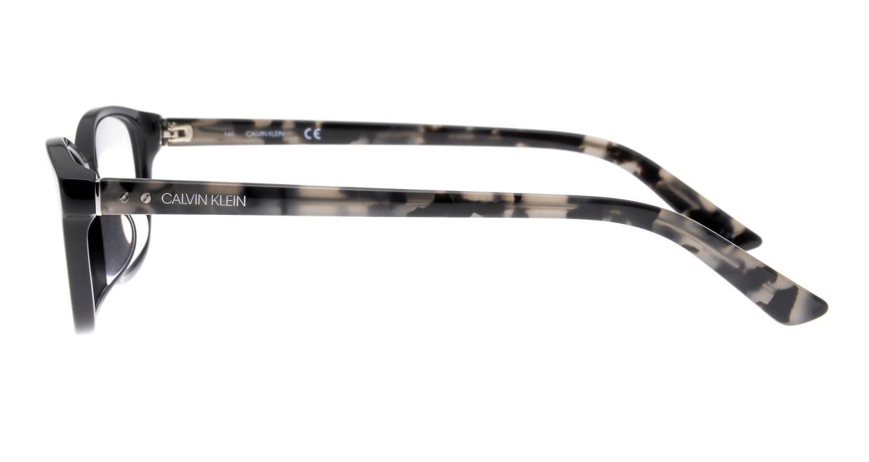 カルバンクライン CK18528A-001-54 [黒縁/ウェリントン]  2