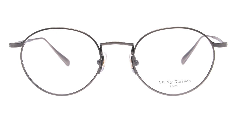 Oh My Glasses TOKYO Monica omg-112-ATS-49 [メタル/鯖江産/丸メガネ/シルバー]