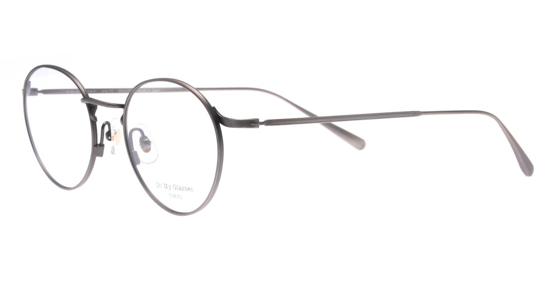Oh My Glasses TOKYO Monica omg-112-ATS-49 [メタル/鯖江産/丸メガネ/シルバー]  1