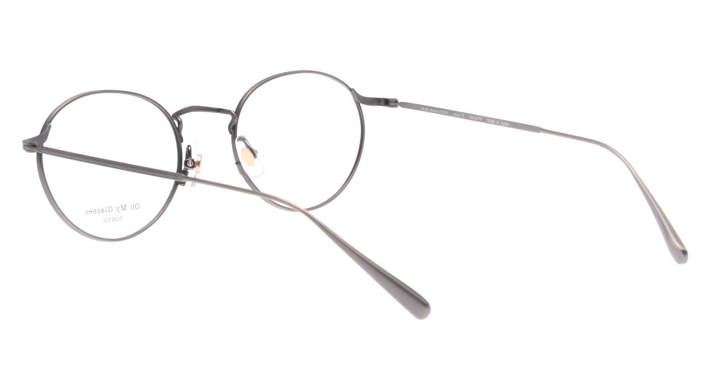 Oh My Glasses TOKYO Monica omg-112-ATS-49 [メタル/鯖江産/丸メガネ/シルバー]  3