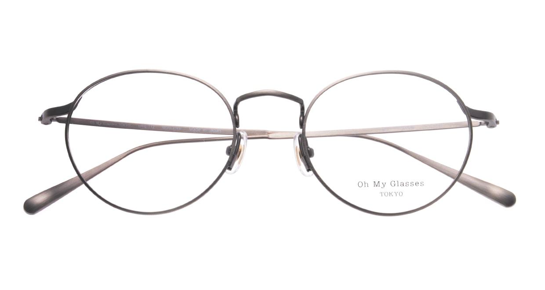 Oh My Glasses TOKYO Monica omg-112-ATS-49 [メタル/鯖江産/丸メガネ/シルバー]  4