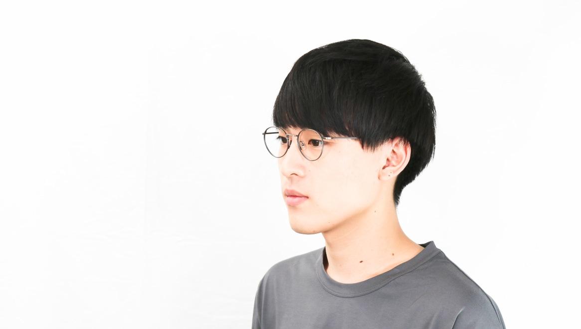 Oh My Glasses TOKYO Monica omg-112-ATS-49 [メタル/鯖江産/丸メガネ/シルバー]  6