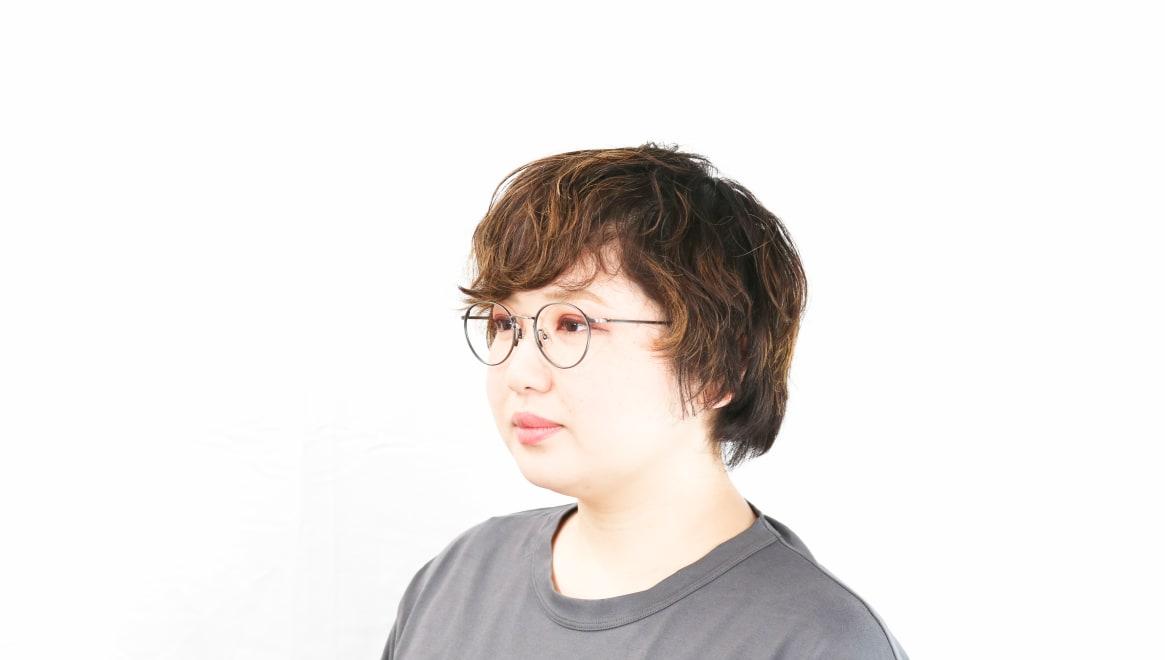 Oh My Glasses TOKYO Monica omg-112-ATS-49 [メタル/鯖江産/丸メガネ/シルバー]  8
