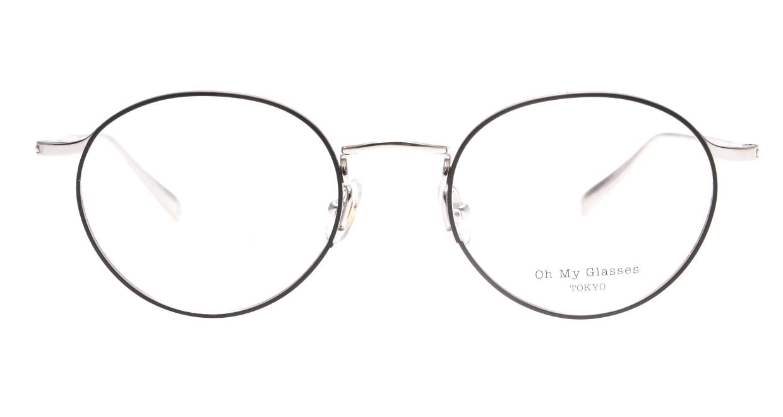 Oh My Glasses TOKYO Monica-49-omg-112-BKM [メタル/鯖江産/丸メガネ]