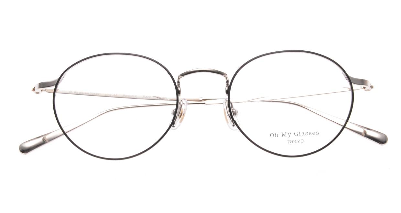 Oh My Glasses TOKYO Monica-49-omg-112-BKM [メタル/鯖江産/丸メガネ]  4