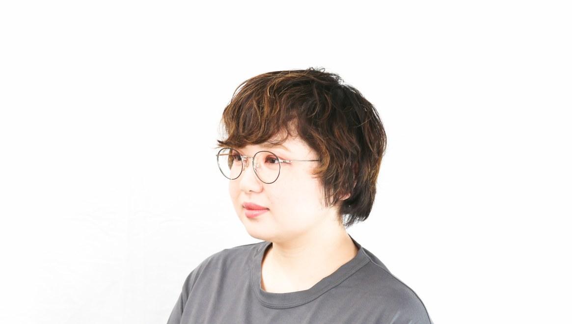 Oh My Glasses TOKYO Monica omg-112-BKM-49 [メタル/鯖江産/丸メガネ]  8