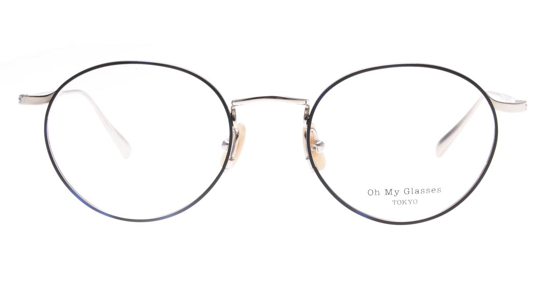 Oh My Glasses TOKYO Monica-49-omg-112-BL [メタル/鯖江産/丸メガネ/青]