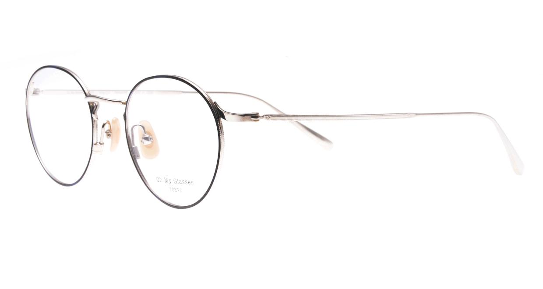 Oh My Glasses TOKYO Monica-49-omg-112-BL [メタル/鯖江産/丸メガネ/青]  1