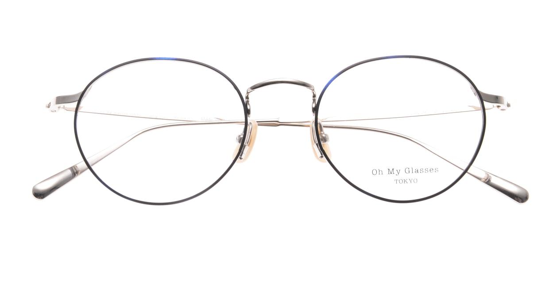 Oh My Glasses TOKYO Monica-49-omg-112-BL [メタル/鯖江産/丸メガネ/青]  4