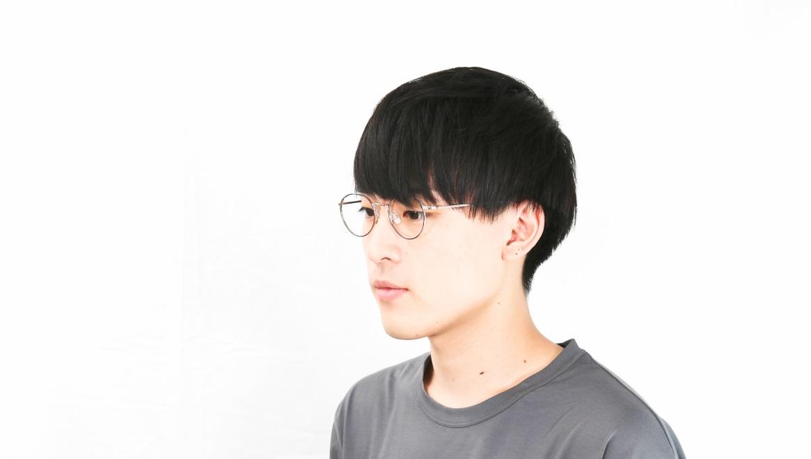 Oh My Glasses TOKYO Monica omg-112-BL-49 [メタル/鯖江産/丸メガネ/青]  6
