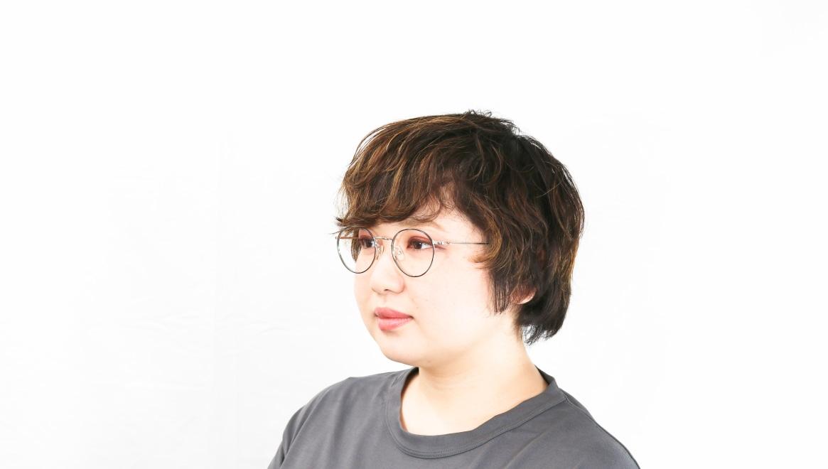 Oh My Glasses TOKYO Monica omg-112-BL-49 [メタル/鯖江産/丸メガネ/青]  8