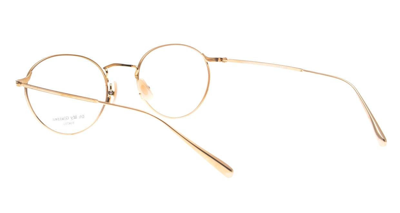 Oh My Glasses TOKYO Monica-49-omg-112-PK [メタル/鯖江産/丸メガネ/ピンク]  3