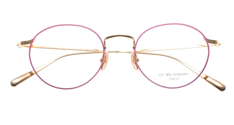 Oh My Glasses TOKYOomg-112-PK-49-monica [メタル/鯖江産/丸メガネ/ピンク]  4