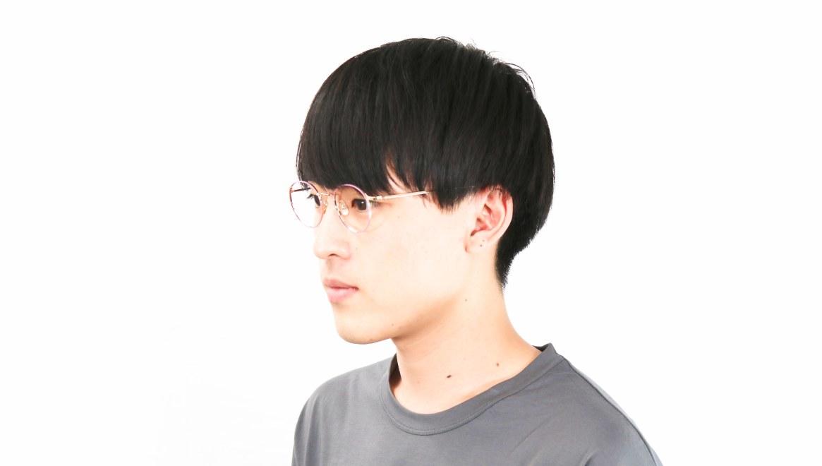 Oh My Glasses TOKYOomg-112-PK-49-monica [メタル/鯖江産/丸メガネ/ピンク]  6