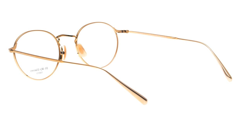 Oh My Glasses TOKYO Monica omg-112-GR-49 [メタル/鯖江産/丸メガネ/緑]  3