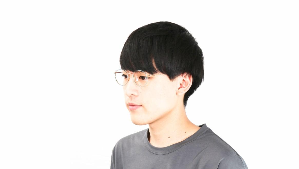Oh My Glasses TOKYO Monica omg-112-GR-49 [メタル/鯖江産/丸メガネ/緑]  6