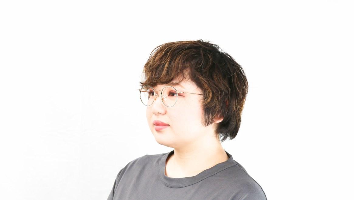 Oh My Glasses TOKYO Monica omg-112-GR-49 [メタル/鯖江産/丸メガネ/緑]  8