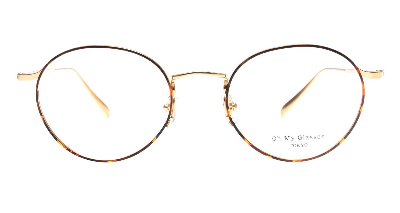 Oh My Glasses TOKYO Monica-50-omg-112-DM [メタル/鯖江産/丸メガネ/べっ甲柄]