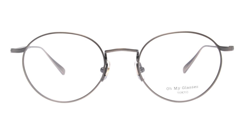 Oh My Glasses TOKYO Monica-50-omg-112-ATS [メタル/鯖江産/丸メガネ/シルバー]