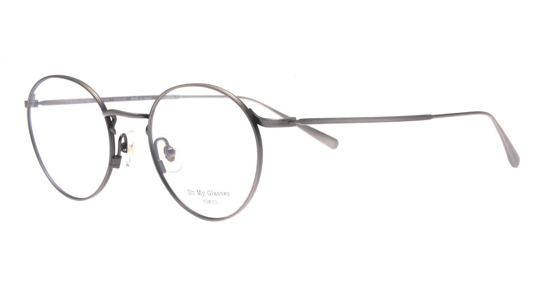 Oh My Glasses TOKYO Monica-50-omg-112-ATS [メタル/鯖江産/丸メガネ/シルバー]  1