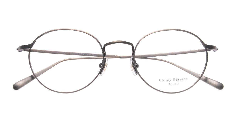Oh My Glasses TOKYO Monica-50-omg-112-ATS [メタル/鯖江産/丸メガネ/シルバー]  4