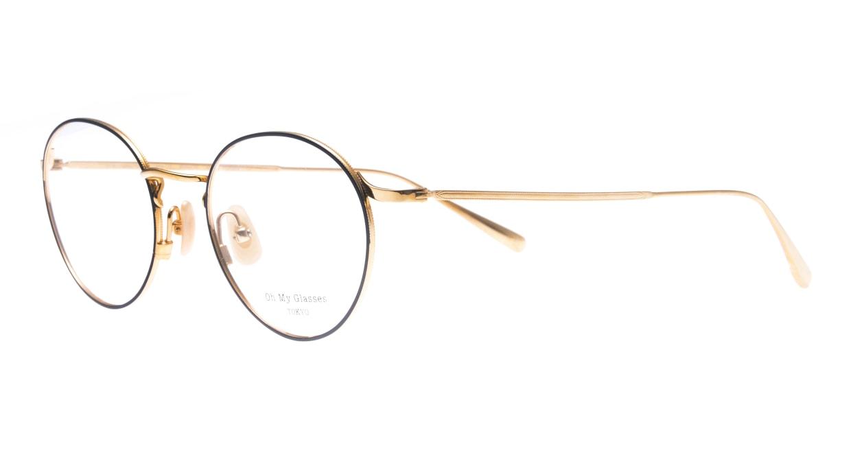 Oh My Glasses TOKYO Monica-50-omg-112-NV [メタル/鯖江産/丸メガネ/青]  1