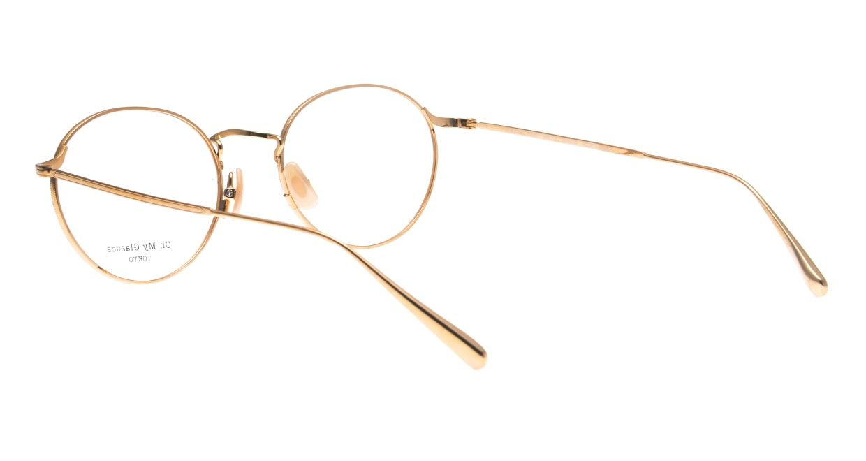 Oh My Glasses TOKYO Monica-50-omg-112-NV [メタル/鯖江産/丸メガネ/青]  3