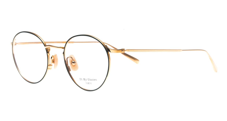 Oh My Glasses TOKYO Monica-50-omg-112-GR [メタル/鯖江産/丸メガネ/緑]  1
